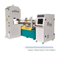 Curve line wood cnc band saw