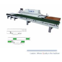 Belt edge banding machine return line